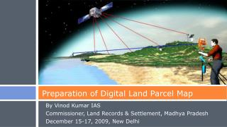 Preparation of Digital Land Parcel Map