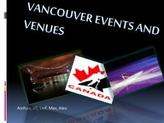 Vancouver Events and Venues