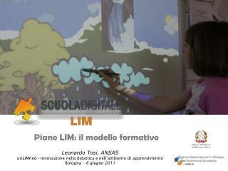 Piano LIM: il modello formativo