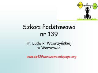Szkoła Podstawowa  nr 139