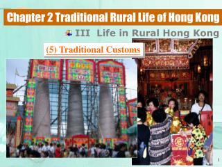 Chapter 2 Traditional Rural Life of Hong Kong