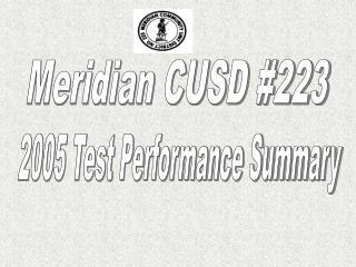Meridian CUSD #223