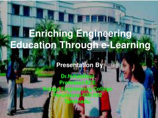 Enriching Engineering Education Through e-Learning