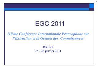 EGC 2011
