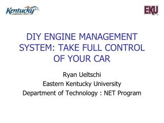 DIY Engine management system: Take full control of your car