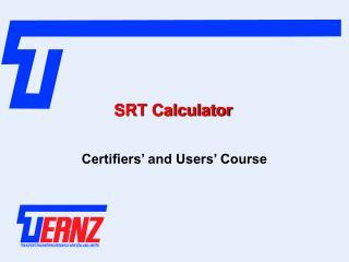 SRT Calculator