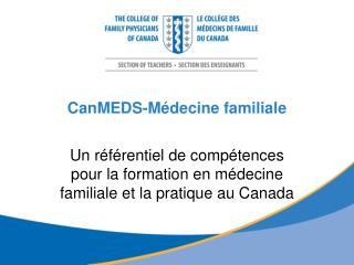 CanMEDS-Médecine familiale