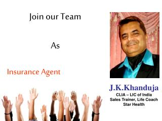 Join our Team As