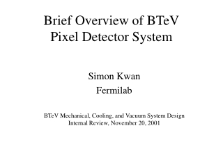 The BTeV Pixel Detector  Mechanical, Electrical and Cooling Structures