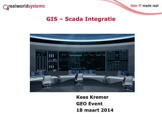 Kees Kremer GEO Event  18 maart 2014