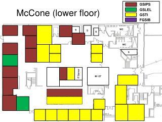 McCone (lower floor)