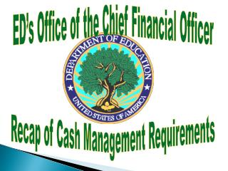 ED s Office of the Chief Financial Officer