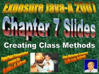 Chapter 7 Slides