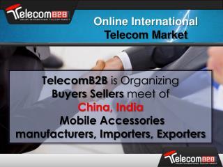 Online International  Telecom Market