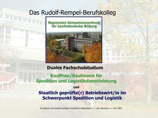 Staatlich geprüfte(r) Betriebswirt/in im Schwerpunkt Spedition und Logistik