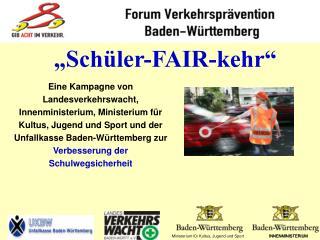 """Schüler-FAIR-kehr"""