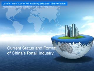 Current Status and Format of China's Retail Industry