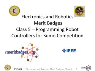 Electronics and Robotics  Merit Badges