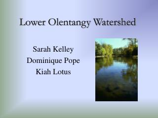 Lower Olentangy Watershed