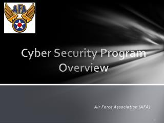 Cyber Security Program Overview