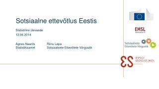 Sotsiaalne ettevõtlus Eestis