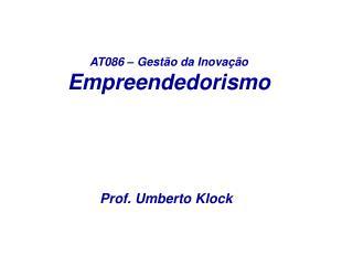 AT086   Gest o da Inova  o Empreendedorismo