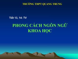 PHONG C�CH NG�N NG? KHOA H?C