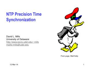 NTP Precision Time Synchronization