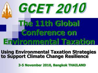 The 11th Global Conference on Environmental Taxation