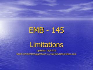 EMB - 145