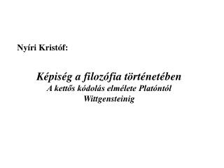 Nyíri Kristó f: