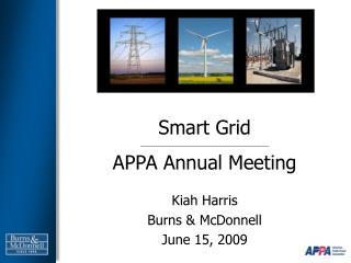 Smart Grid APPA Annual Meeting