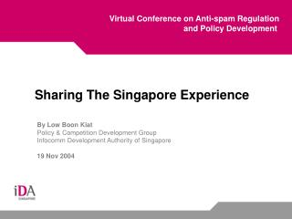 Virtual Conference on Anti-spam Regulation and Policy Development