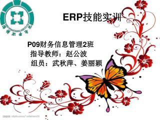 ERP 技能实训
