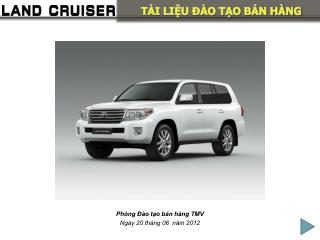 Phòng Đào tạo bán hàng TMV Ngày 20 tháng 06  năm 2012