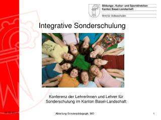 Integrative Sonderschulung