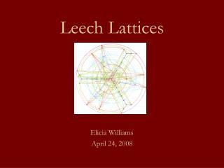 Leech Lattices