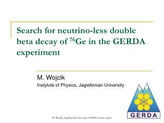 Search for neutrino-less double  beta decay of  76 Ge in the GERDA experiment
