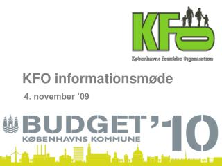 KFO informationsmøde