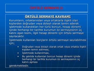 238 Ortulu Sermaye