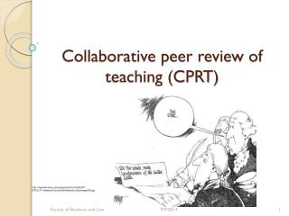 Collaborative peer review of teaching (CPRT)