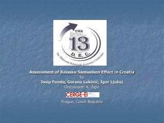 Assessment of Balassa-Samuelson Effect in Croatia by Josip Funda, Gorana Lukinić, Igor Ljubaj