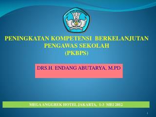 MEGA ANGGREK HOTEL JAKARTA,  1-3  MEI 2012