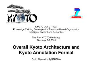 Kyoto Architecture - Baselines