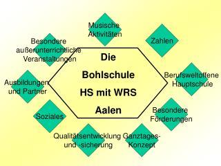 Die  Bohlschule HS mit WRS Aalen