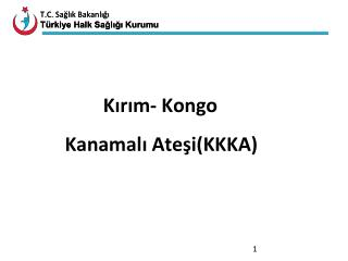 Kırım- Kongo          Kanamalı Ateşi(KKKA)