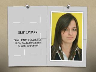 ELİF BAYRAK
