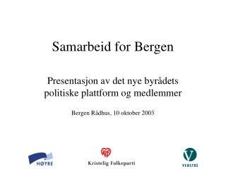 Samarbeid for Bergen