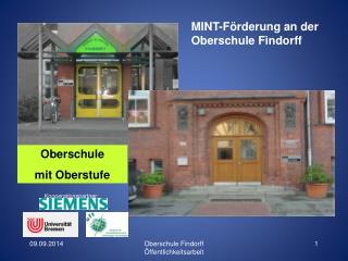 MINT-Förderung an der Oberschule Findorff