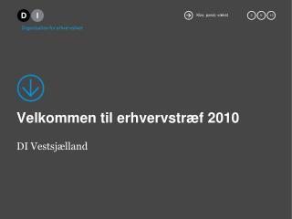Velkommen til erhvervstræf 2010